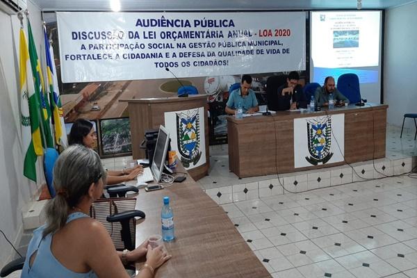 CÂMARA MUNICIPAL DE NOVA MAMORÉ REALIZOU AUDIÊNCIA PÚBLICA PARA DEBATER LEI ORÇAMENTÁRIA DE 2020.