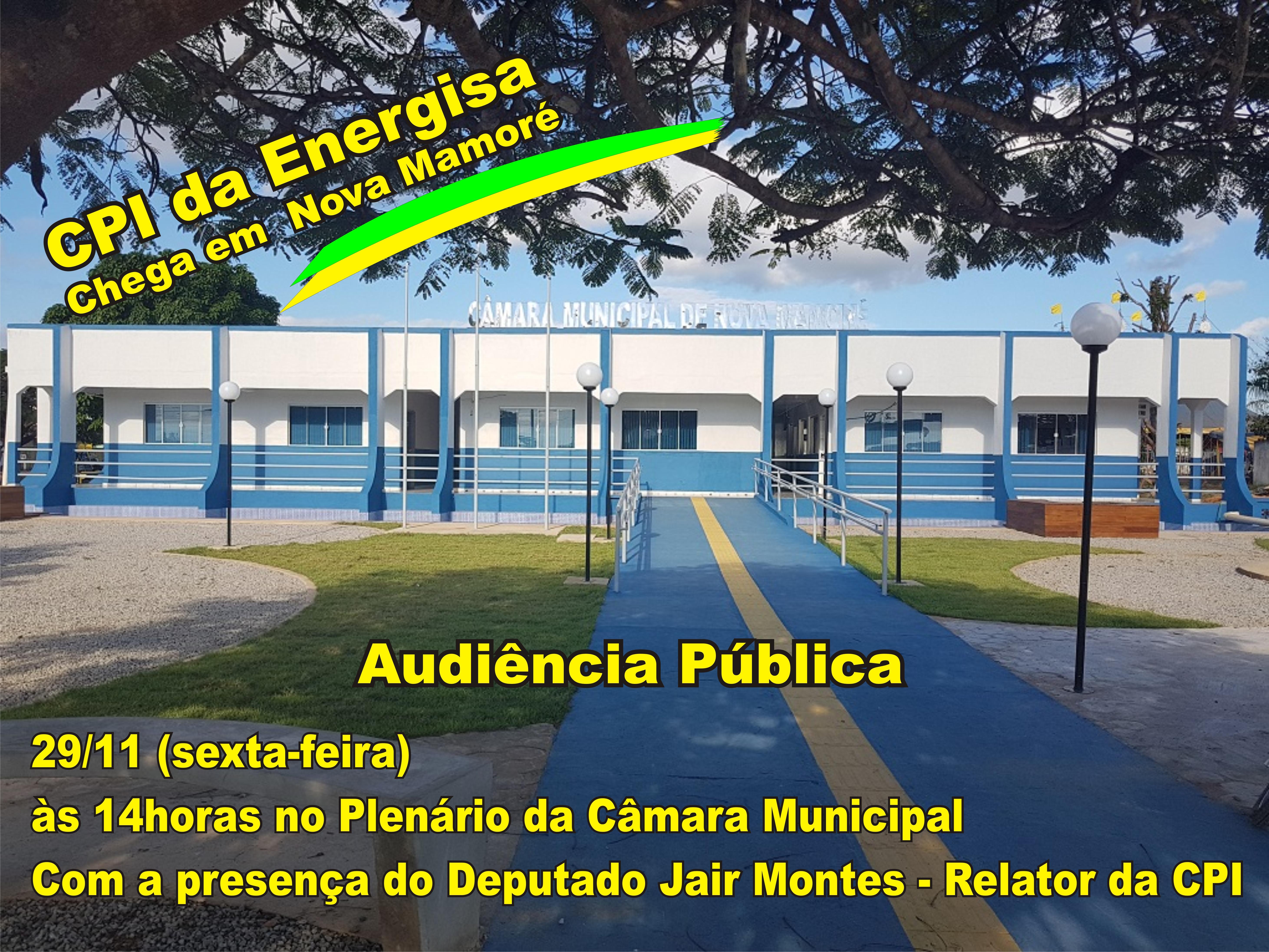 CONVITE DA AUDIÊNCIA PÚBLICA.