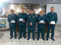 POLICIAIS MILITARES DA 3ª CIA RECEBEM MOÇÃO DE APLAUSOS DA CÂMARA DE VEREADORES DE NOVA MAMORÉ