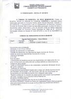 PRESIDENTE DA CÂMARA CONVOCA APROVADA EM CONCURSO PARA PROVIMENTO DO CARGO DE AGENTE ADMINISTRATIVO.